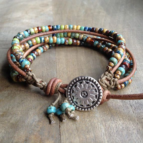 Pin On Leather Jewelry
