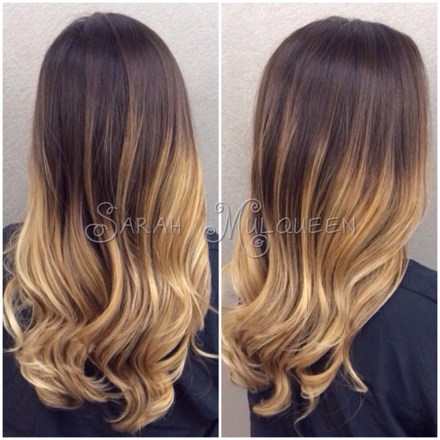 Ombre Hair By Sarah Mulqueen At Studio Fifty Fifty In Huntington