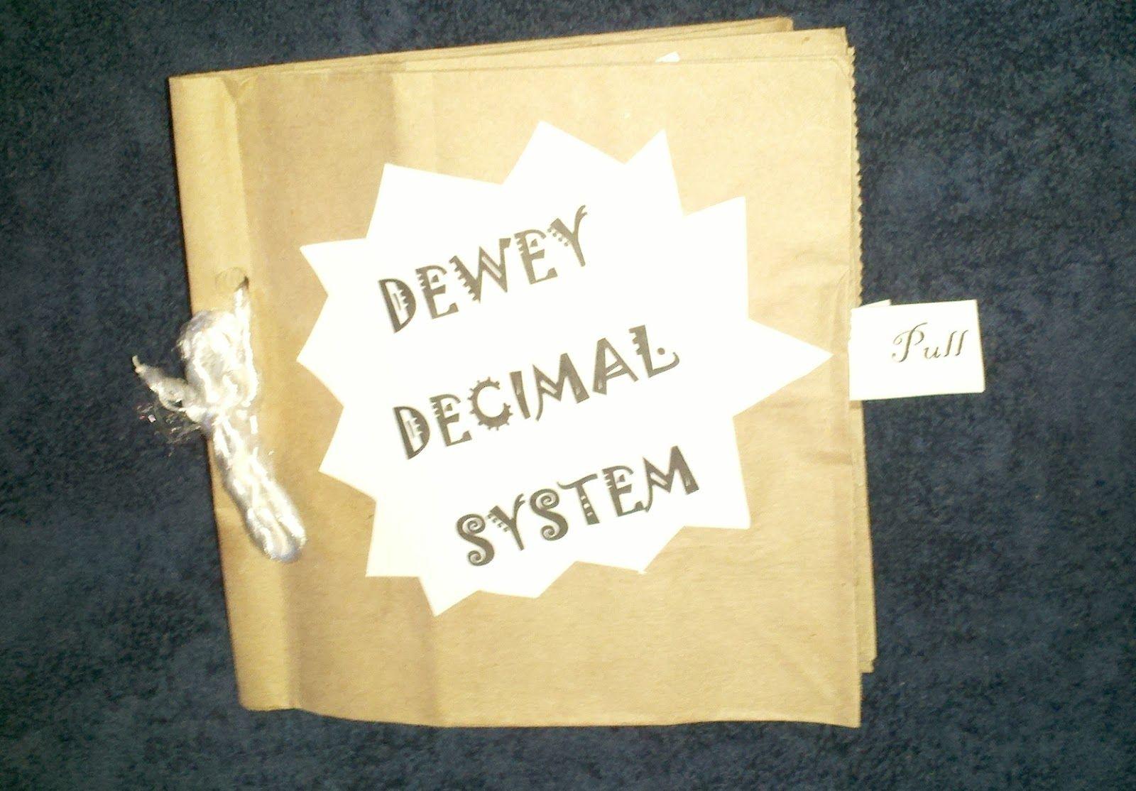 Dewey Decimal System Paper Bag Book For Library Skills