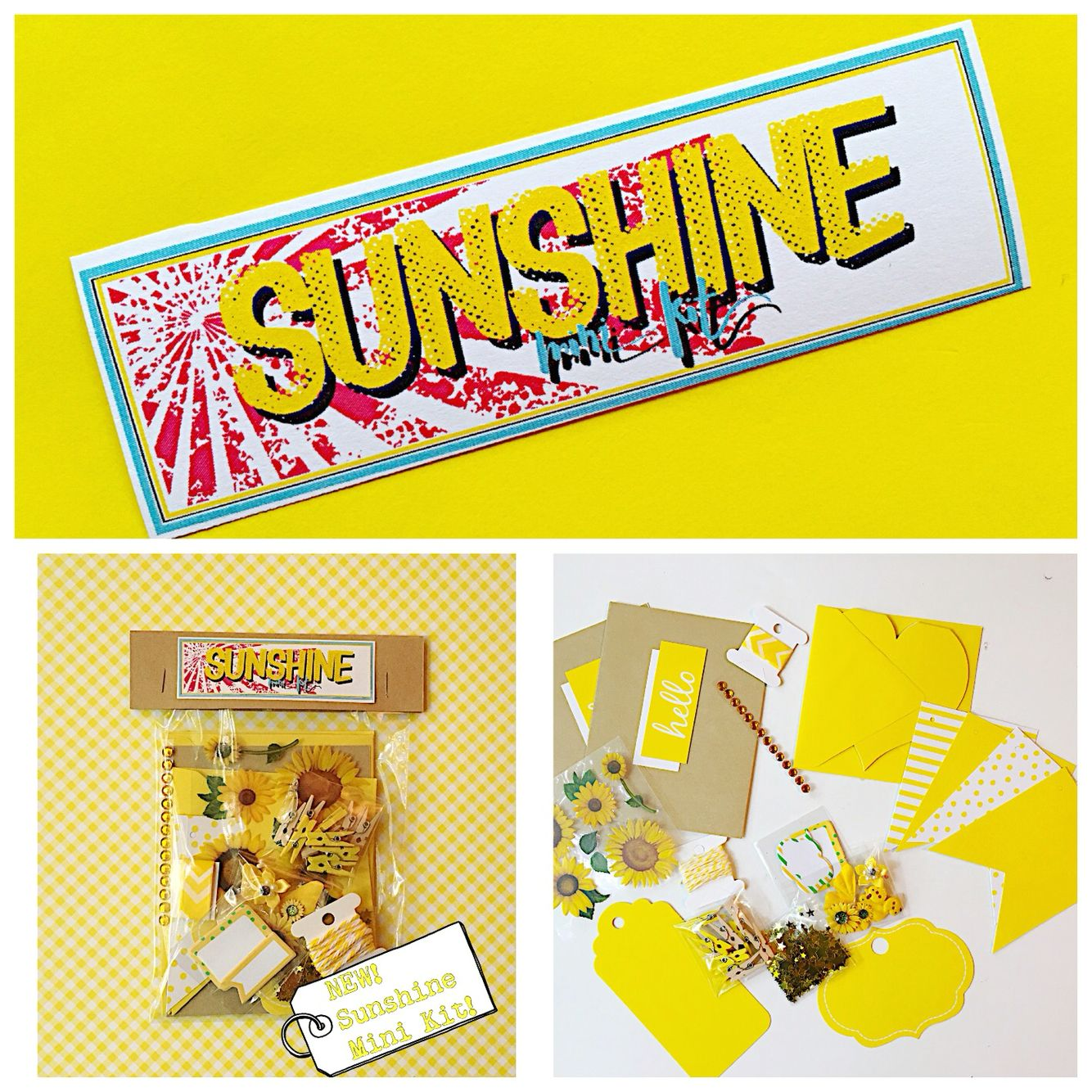 #Sunshine #snailmail #mini #kit!  Available in shop!