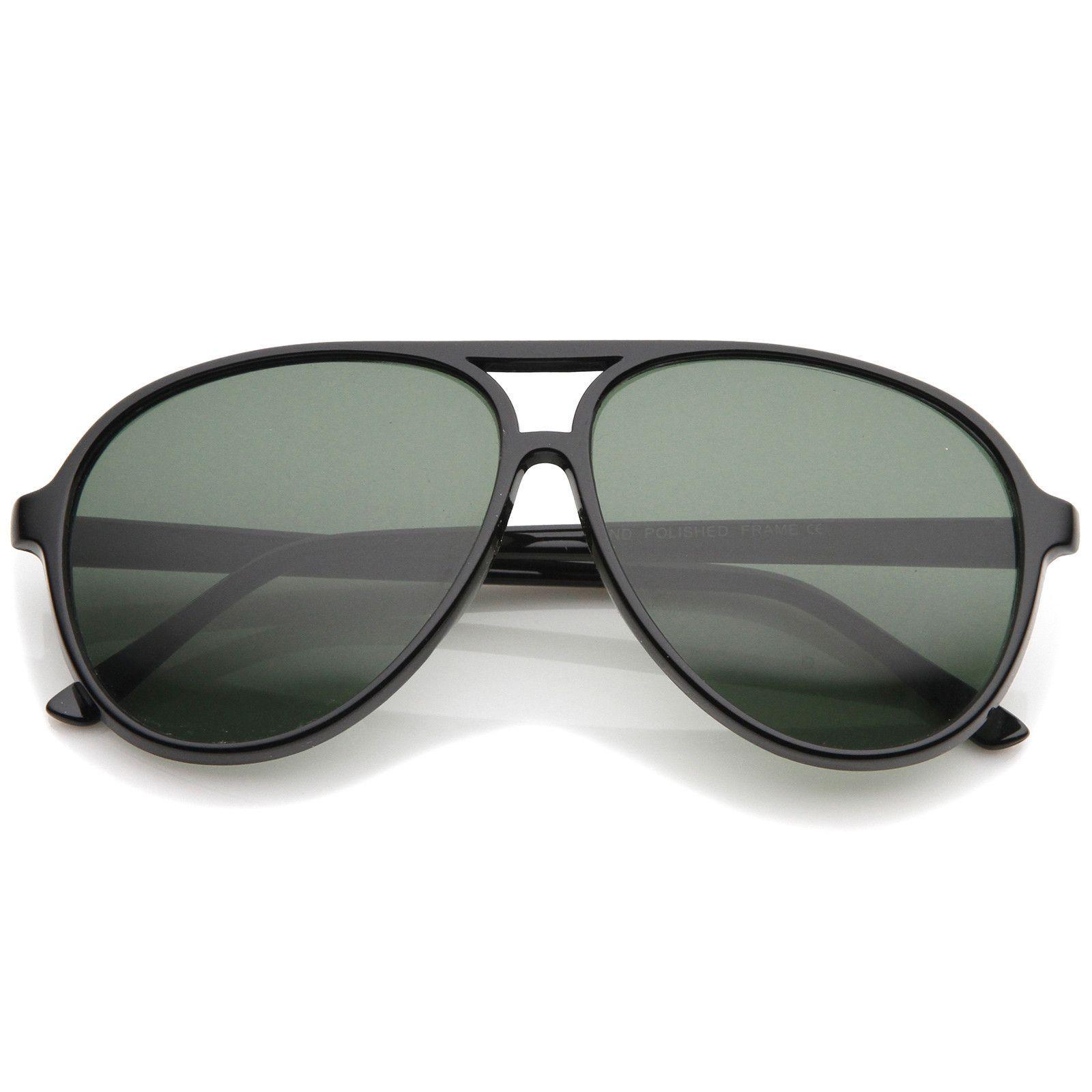 9e6a537863c Retro Flat Top Teardrop Shaped Neutral Colored Lens Aviator Sunglasses 59mm   sunglass  frame