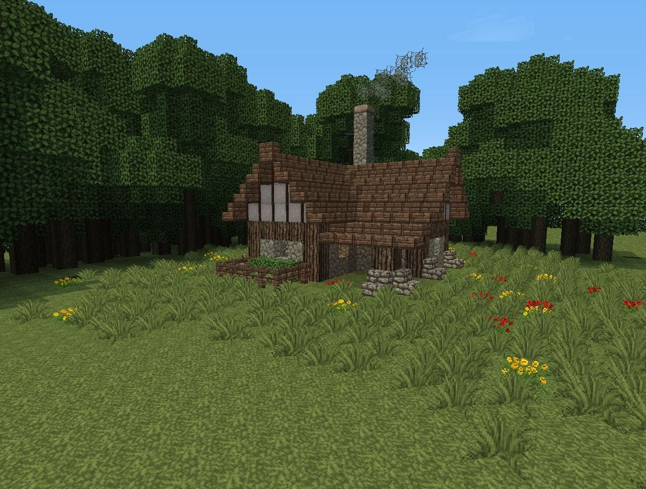 Simple Home Minecraft small house, Minecraft houses