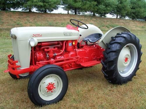 Ford Jubilee Tractor 1953 54 Ford Golden Jubilee Tractor Ford