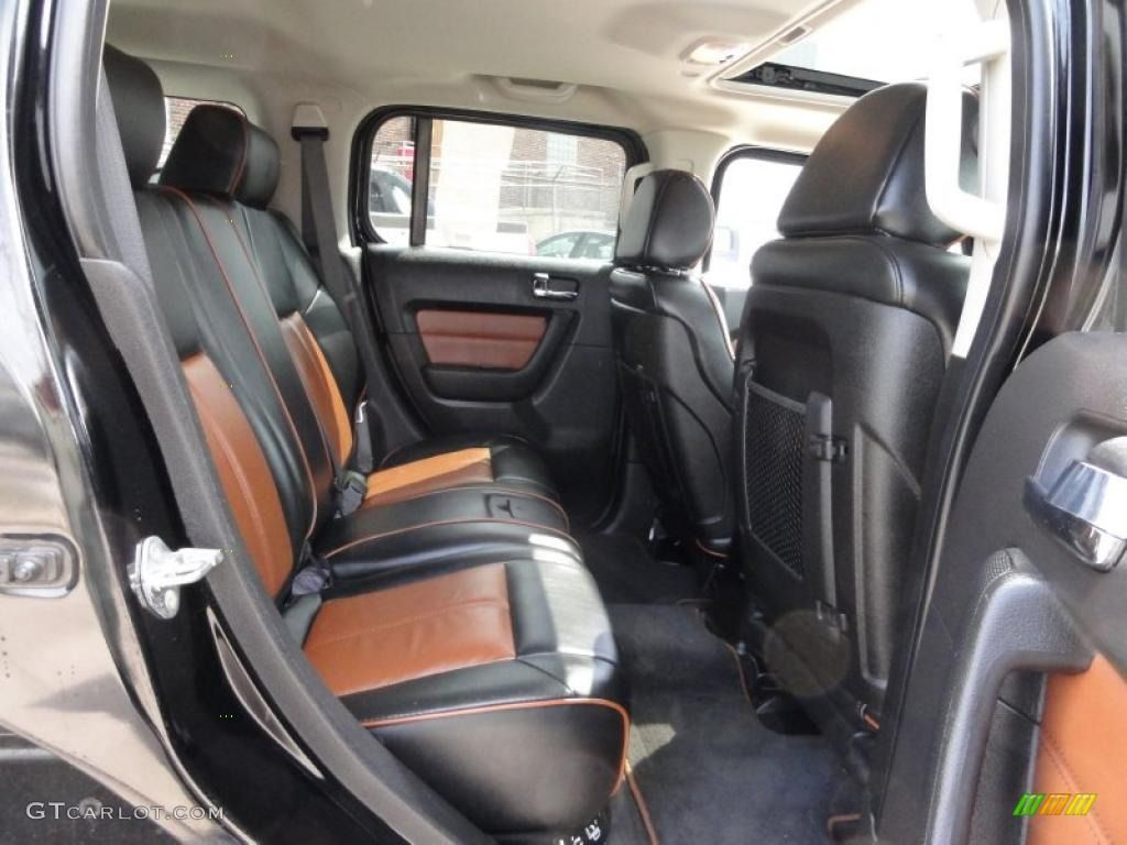 hummer h3 custom interior