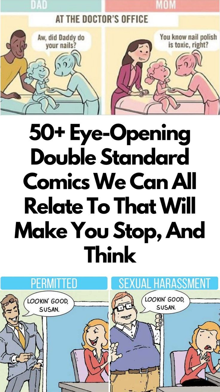 These double standard comics