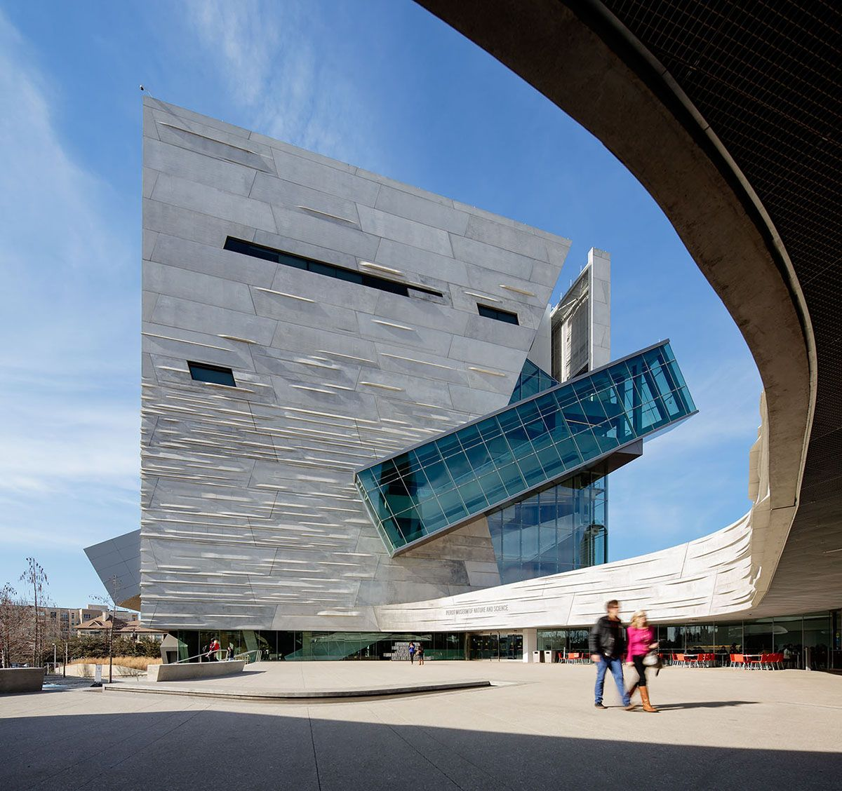Denver Museum Of Science And Nature Inside: Perot Museum Of Nature And Science In Dallas, Texas, By