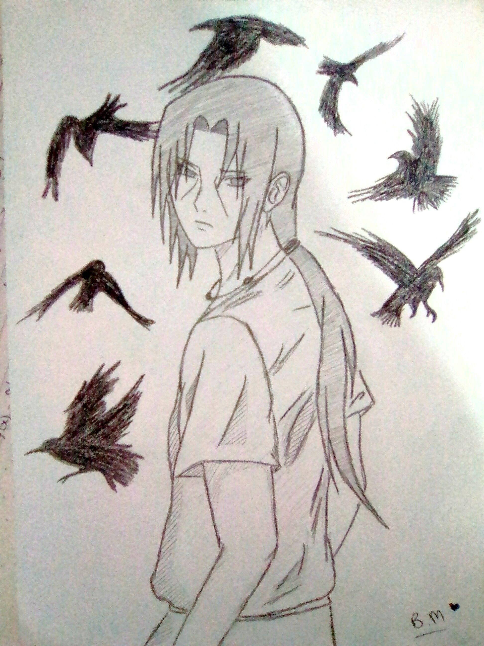 My Draw B M Itachi Uchiha Uchiha Anime Naruto