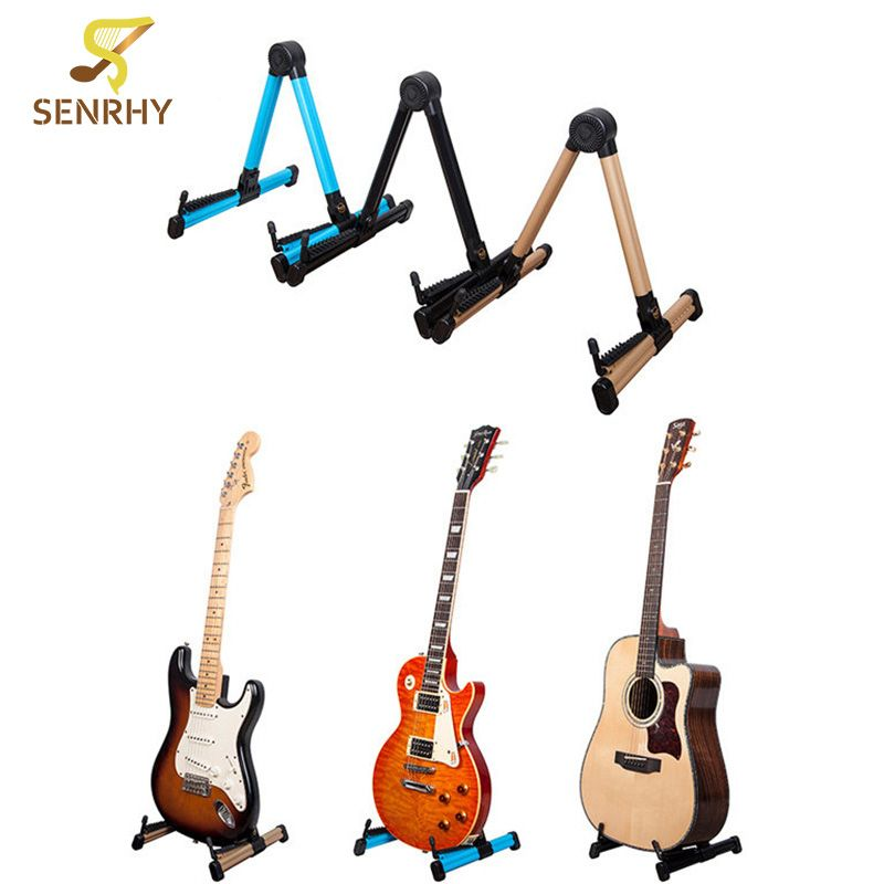 Senrhy Guitar Stand Universal Folding A-Frame use for Acoustic ...