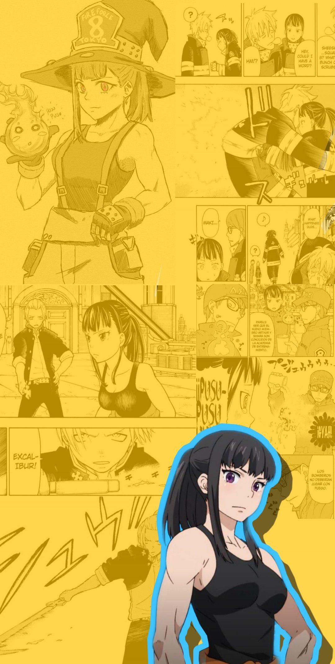 Maki Oze Wallpaper Anime Background Aesthetic Anime Cool Anime Wallpapers