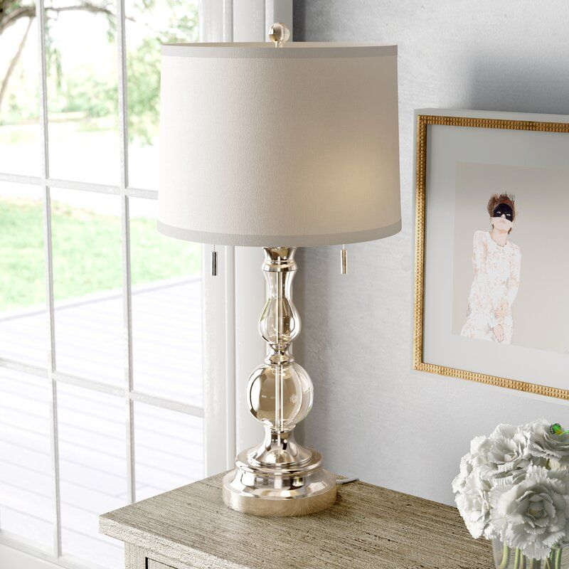 Agda 27 Table Lamp In 2020 Crystal Lamp Bedroom Crystal Table Lamps Lamp