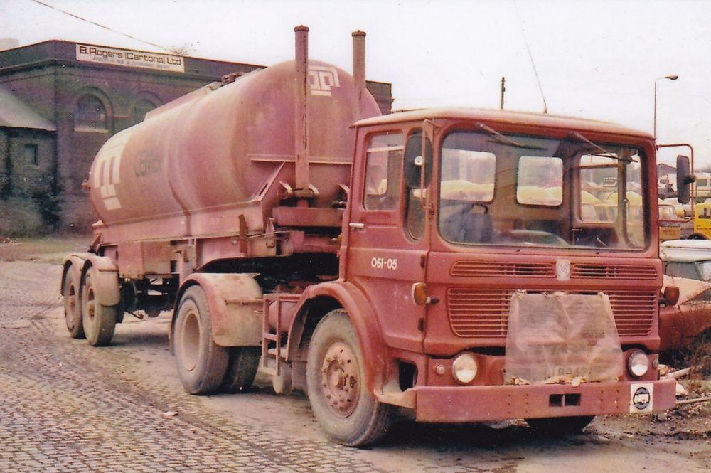 Col Photo Tunnel Cement Aec Mandator Artic Bulk Tanker P Reg