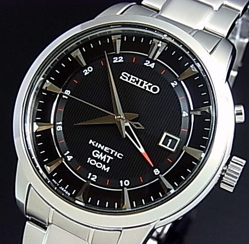 BEST QUALITY WATCHES - Seiko Mens Kinetic GMT SUN033P1, £189.99 (http://www.bestqualitywatches.co.uk/seiko-mens-kinetic-gmt-sun033p1/)