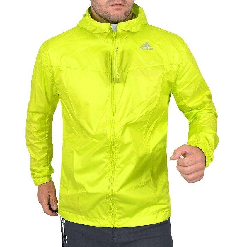 Herren Adidas Windbreaker Laufjacke Windjacke Jacke Sport OvnmN08w