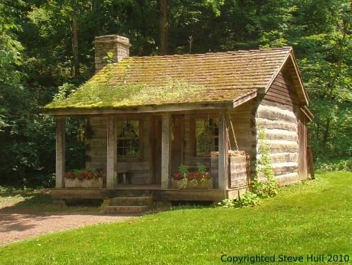 Garden House In Spring Mill Pioneer Village Country