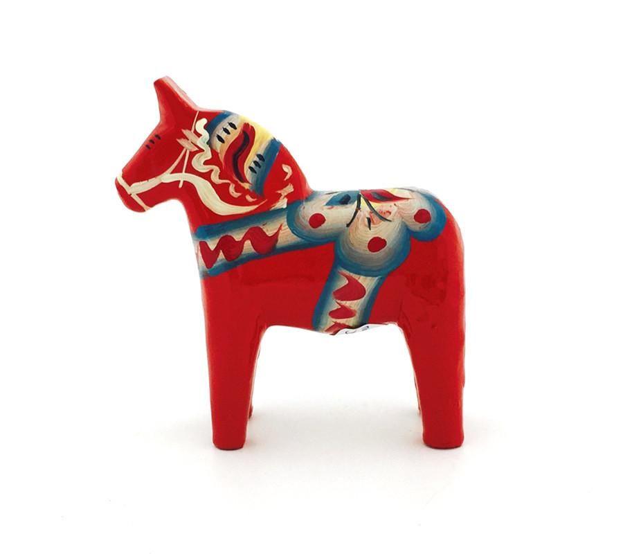 Classic Original Red Dala Horse 3 My Growing Traditions Dala Horse Scandinavian Folk Art Horses