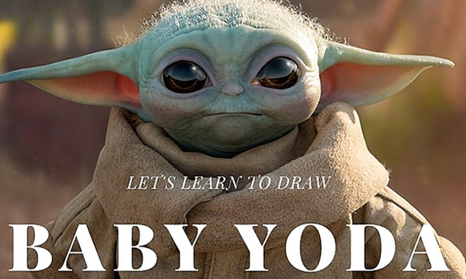 Learn How To Draw Baby Yoda Chip And Company Baby Drawing Drawings Learn To Draw
