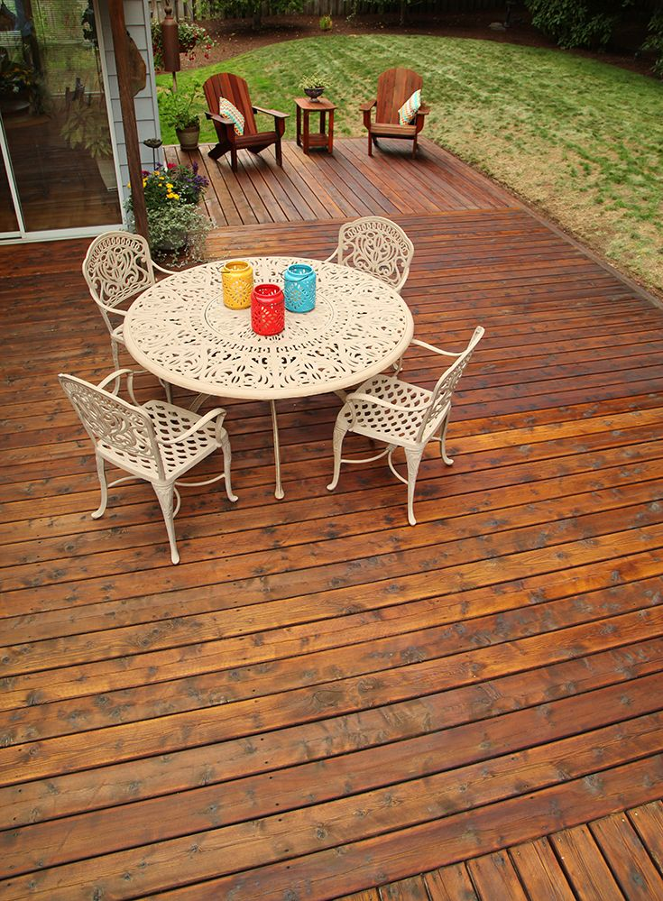 This Fall Beautify Your Deck With The Nourishing Triple Oil Blend Of Thompson S Waterseal Penetrating Timber Oil For Great Y Timber House Colors Exterior Wood