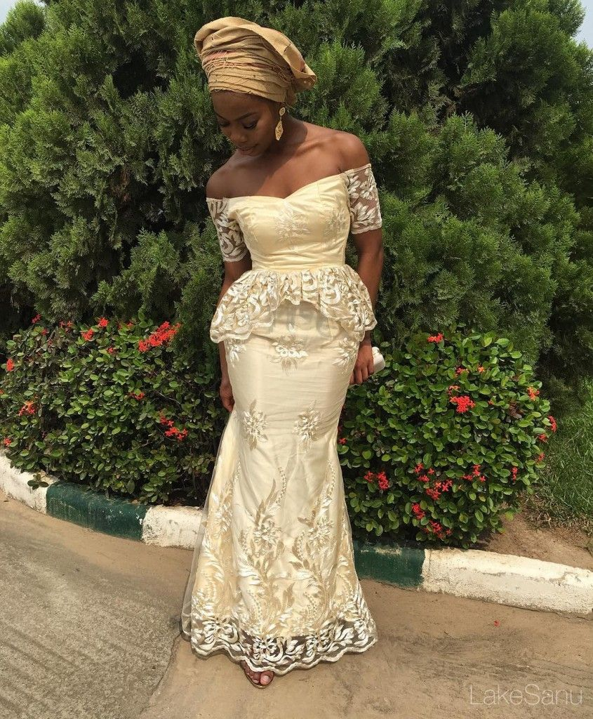 Top Ten Breathtaking Cord Lace Aso Ebi Styles