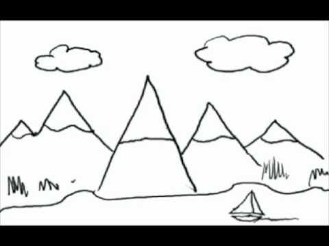 drawing from letters a how to draw lesson for kids youtube my kids - Simple Drawing For Kid