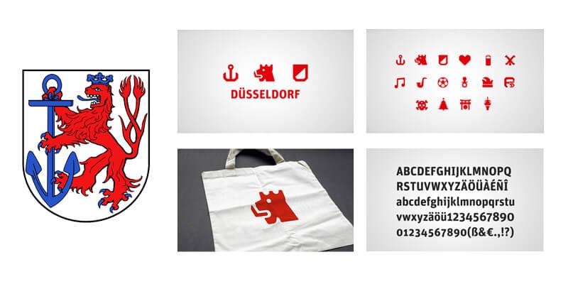 Examples of minimal heraldic logo design (con immagini