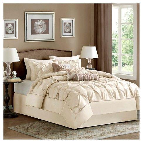 Piedmont Ruched Multiple Piece Comforter Set 7 Pc