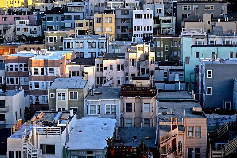 Talot, Kaupunkien, Asuinalueella, Rakennukset