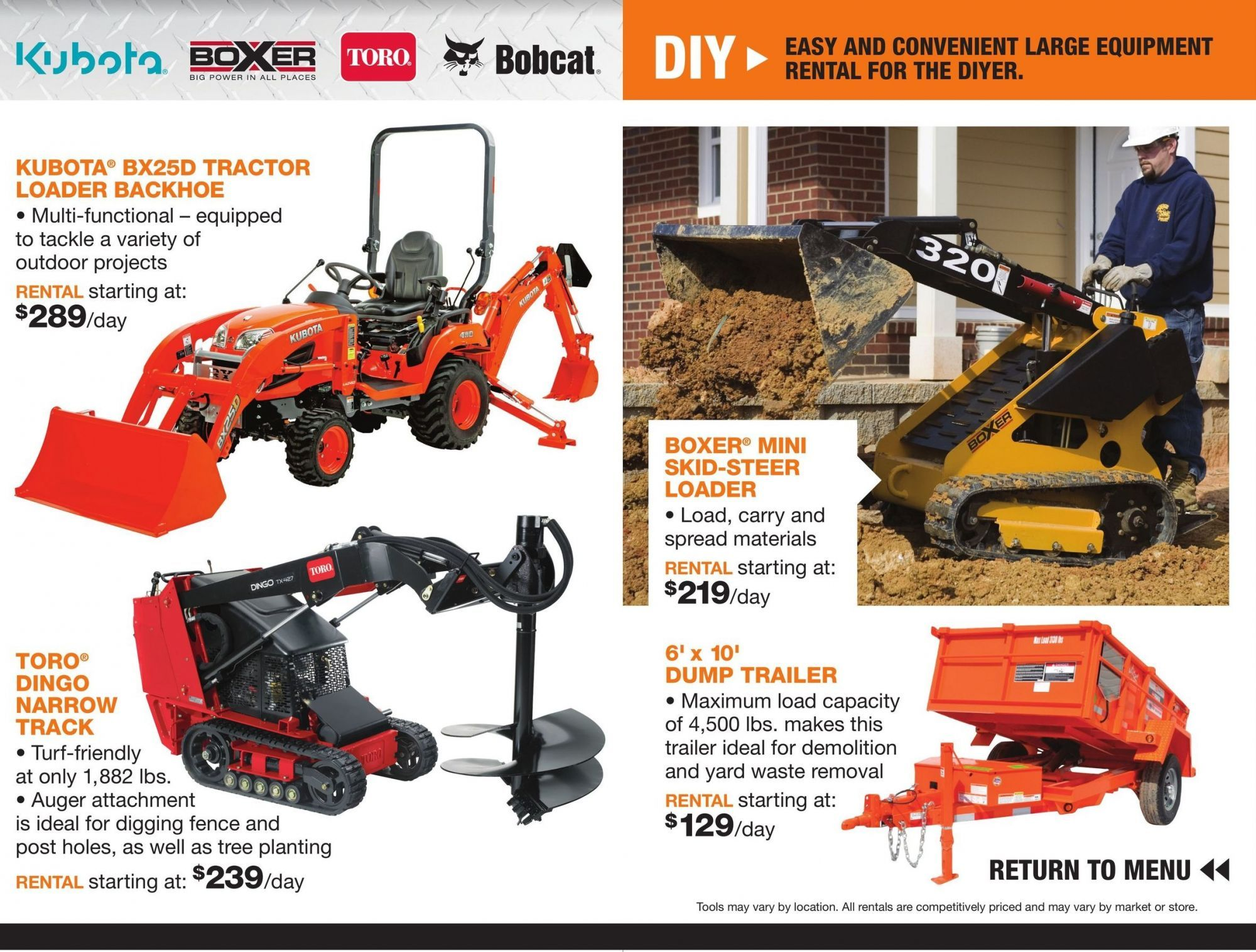 Flyer Home Depot Tool Rental 2018 Canada From Friday March 23 2018 To Monday December 31 2018 Home Depot Home Depot Store Flyer