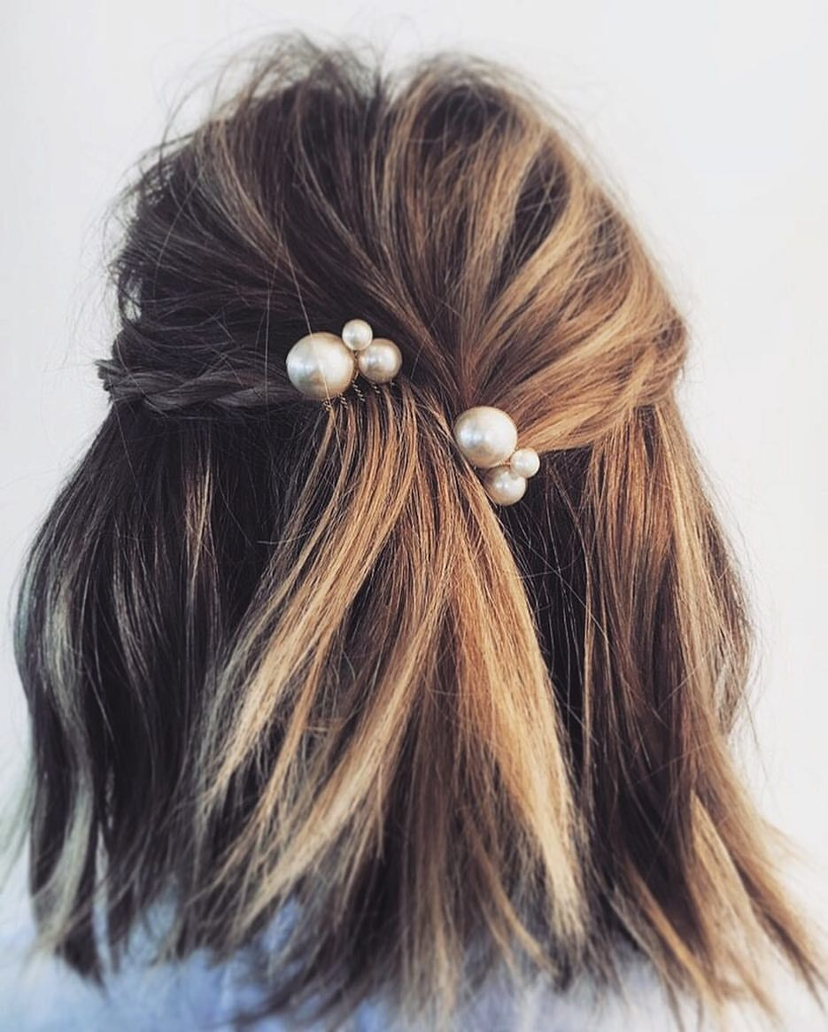 Wedding Hairstyle Lob: From The Classics File- #allisonpearlcomb + Lob