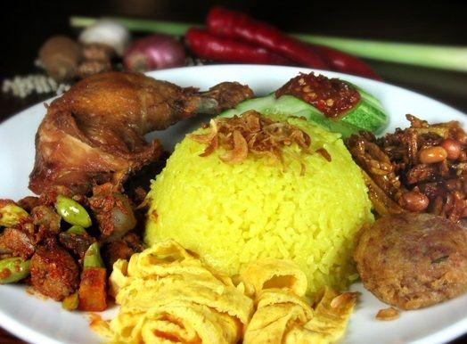 Nasi Kuning Resepi Mudah Dan Ringkas Resep Resep Masakan Malaysia Resep Makanan India Resep Nasi
