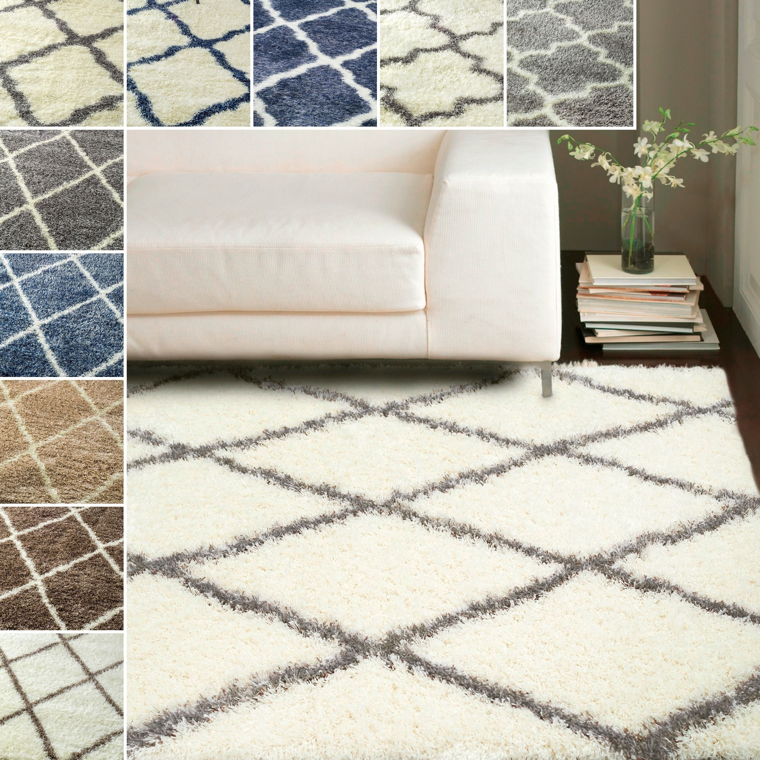 from a loomed power this room to with rug add living look stylish pin contemporary your shag