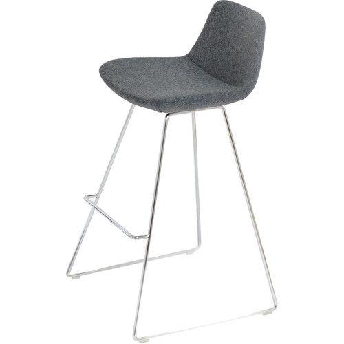 Peachy Found It At Allmodern Pera Wire 24 Counter Stool Dream Inzonedesignstudio Interior Chair Design Inzonedesignstudiocom