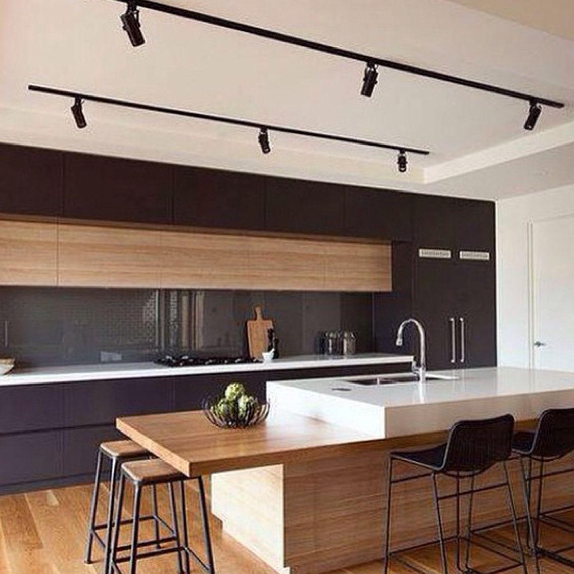 Teilweise ansprechend | Moderní kuchyně | Pinterest | Küche, Moderne ...