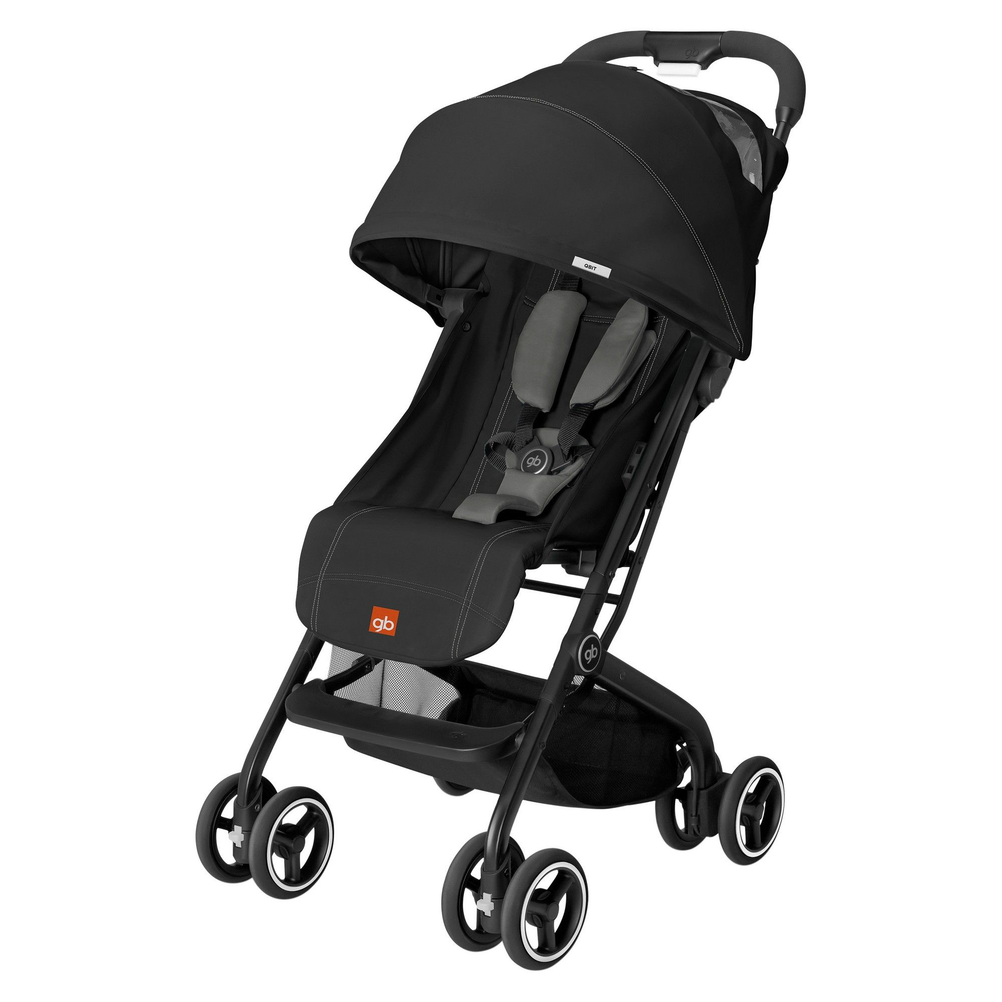GB Qbit Stroller Monument Black Travel stroller, Urban