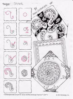 Shnek pattern by zenjoy / switzerland http://www.zenjoy.ch/zen-und-tangle/meine-eigenen-tangles/