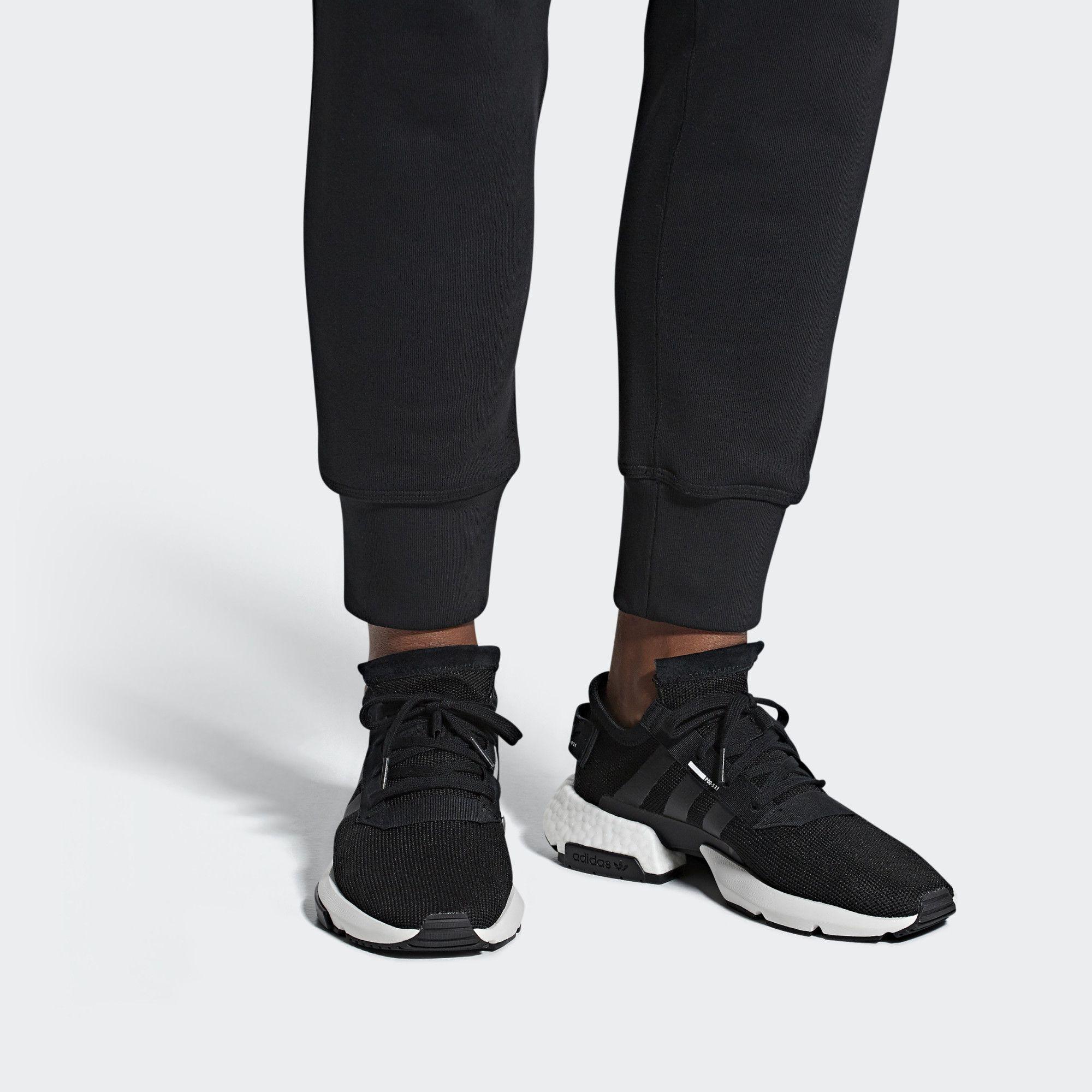 Pod S3 1 Shoes Black Adidas Black Shoes Shoes