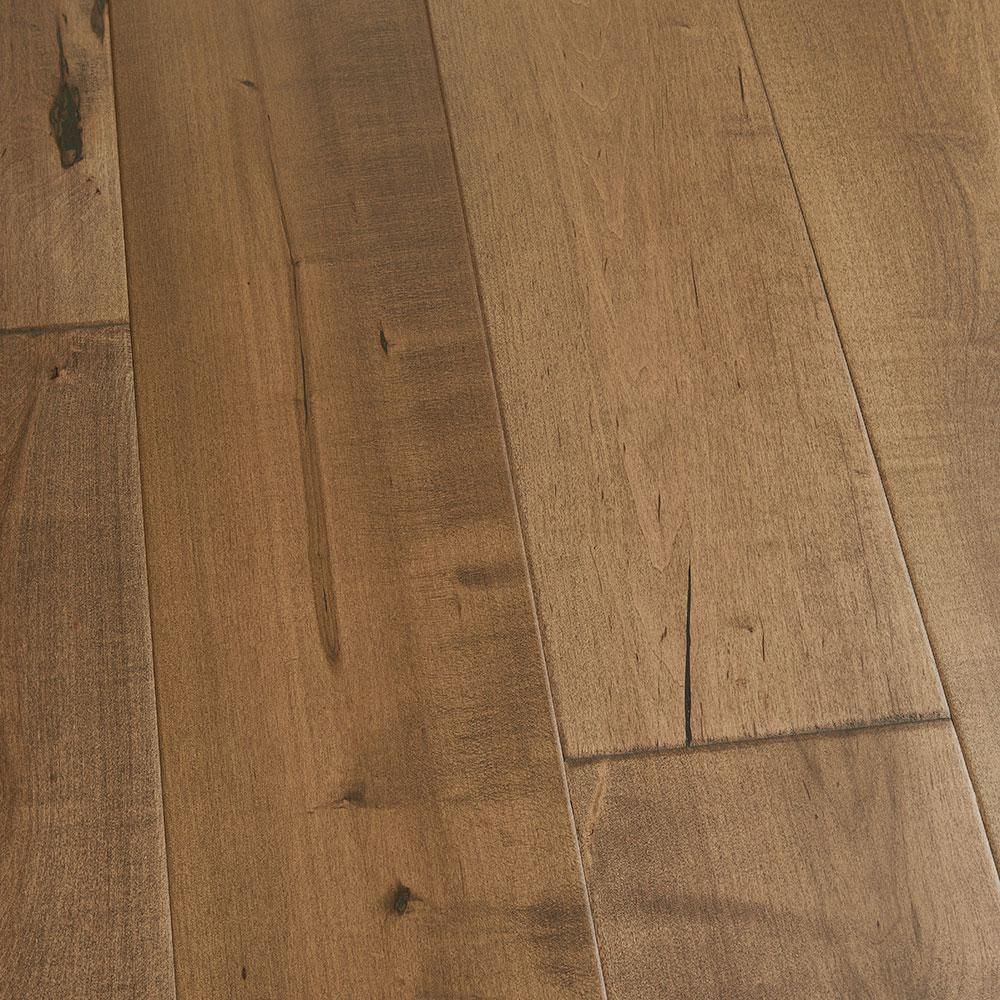 Maple cardiff 1 2 in thick x 7 1 2 in wide x varying for Wide plank wood flooring