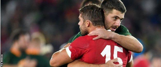 Rugby World Cup semifinal Wales 1619 South Africa