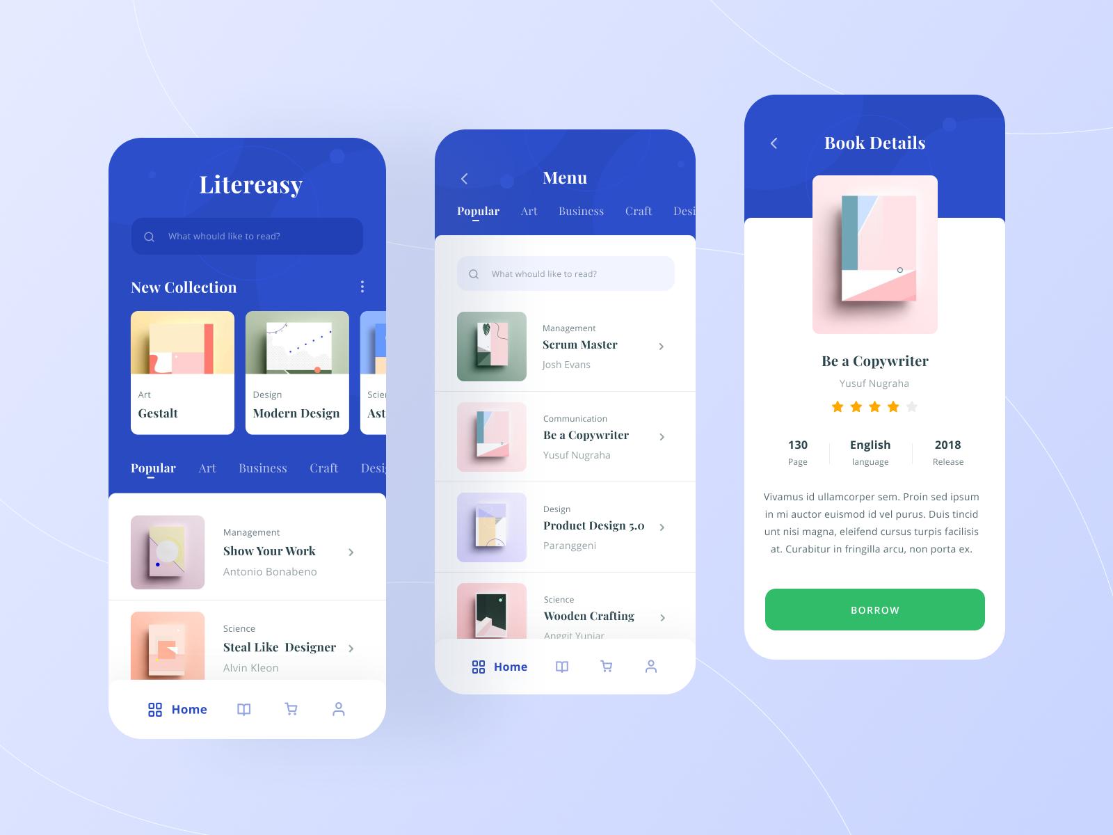 Litereasy Digital Library App