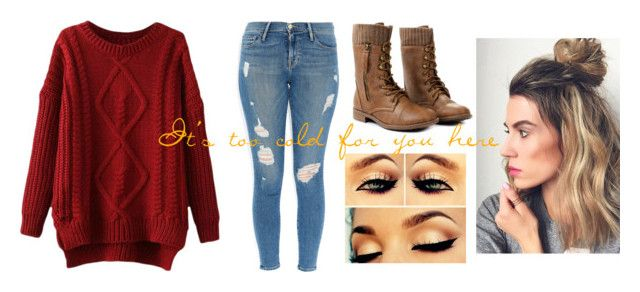 It's too cold for you here by lulu-bell-7298 on Polyvore featuring Frame Denim