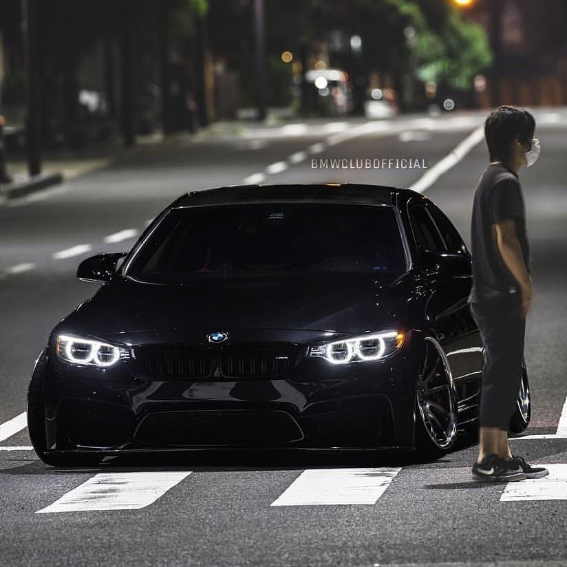 Bmw F80 M3 Black Stance With Images Bmw Bmw M3 Bmw M5