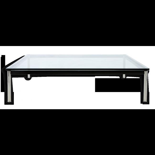 table basse en verre le corbusier lc10 par cassina verre et cristal transparent bon tat design 40053