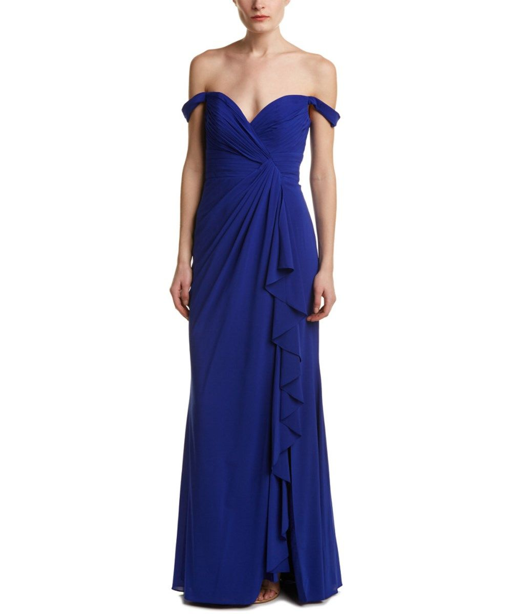 BADGLEY MISCHKA Badgley Mischka Silk Gown'. #badgleymischka #cloth #formal  evening · Royal Blue ...