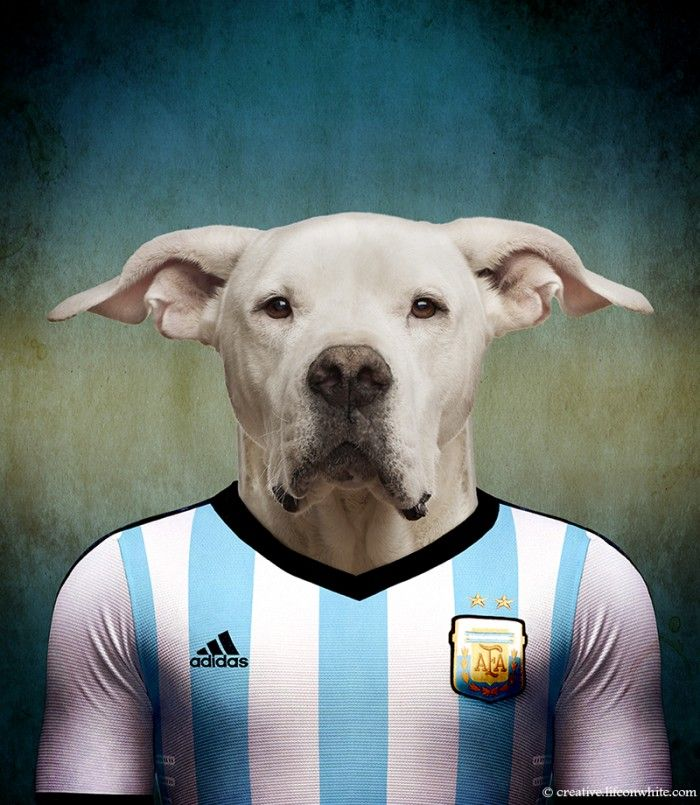 Soccer Nations Dogs By Life On White Creative The More Representative Dogs From Every Country Photographed Wearing The Uniform Of Sporting Dogs Dogs World Cup