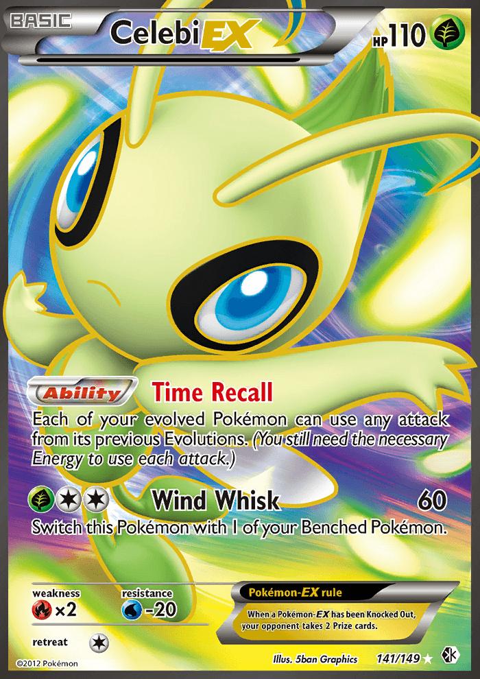 Celebi Ex Boundaries Crossed Bcr 141 Pkmncards Pokemon Card Memes Cool Pokemon Cards Rare Pokemon Cards