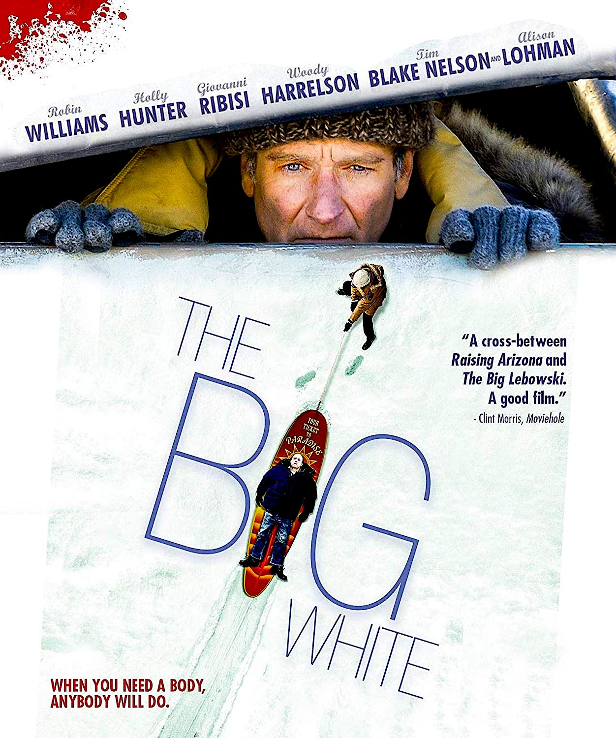 THE BIG WHITE BLURAY (MVD MARQUEE COLLECTION) Blake