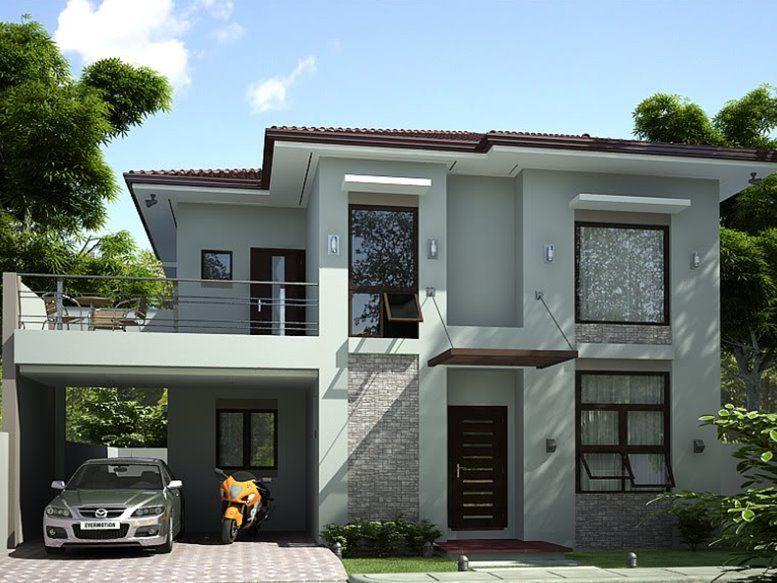 storey simple modern house design also pinterest rh za