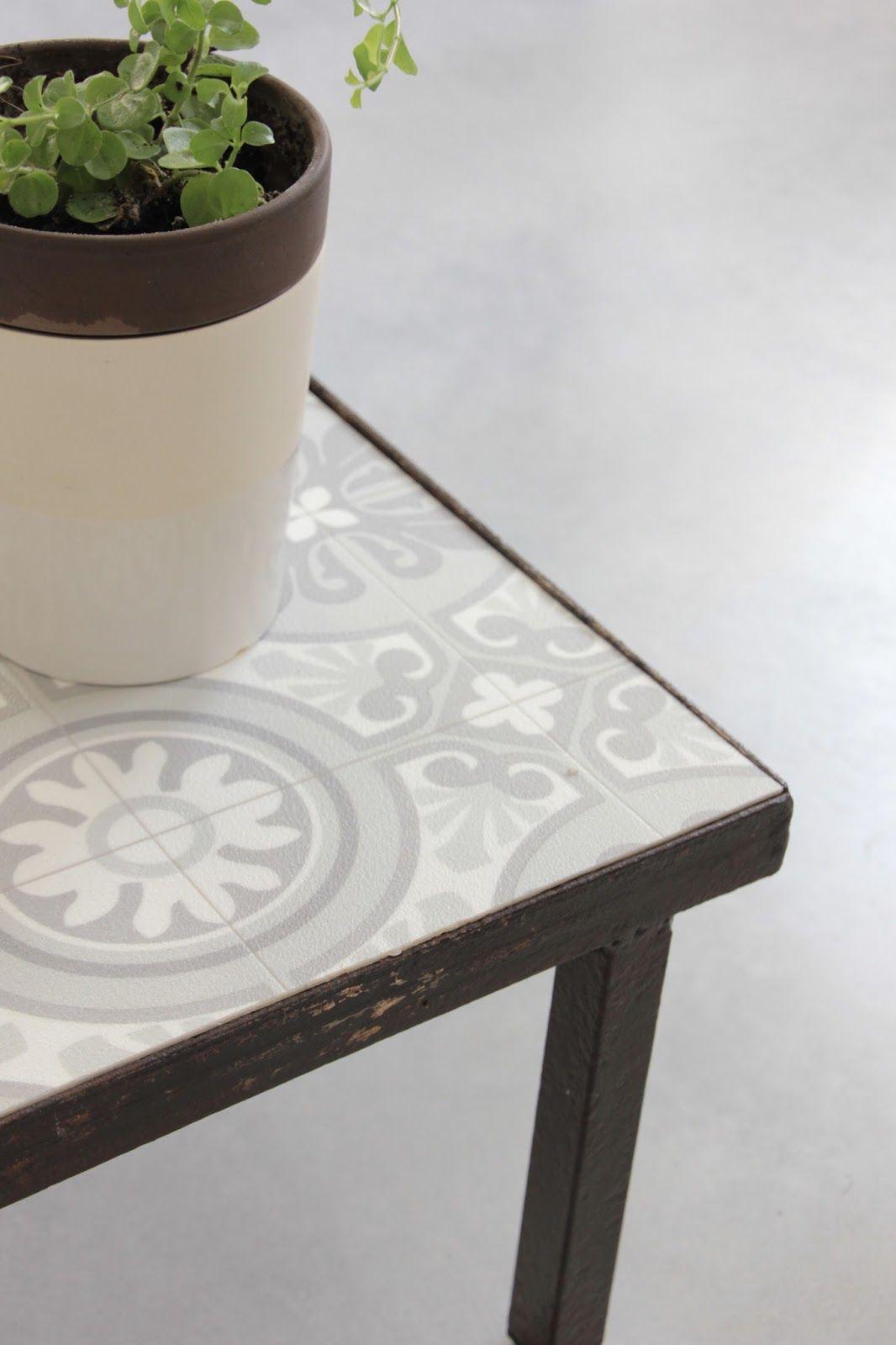 Ma table basse façon carreaux de ciment DIY | FOTO FOOD | Table ...