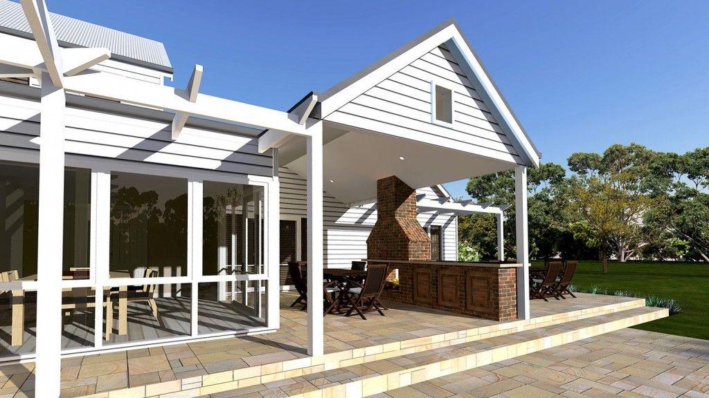 Ashbourne House - Storybook Designer Kit Homes Australia
