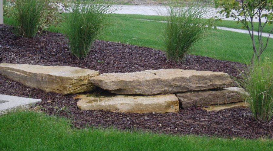 limestone landscaping ideas - google