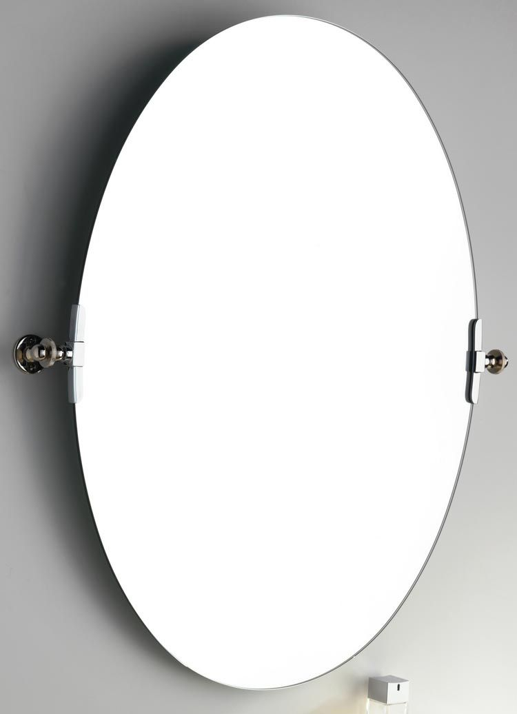 small oval bathroom mirrors